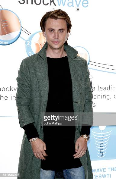 Jonathan Cheban launches 3DSkinmed at ExCel on February 28 2016 in London England