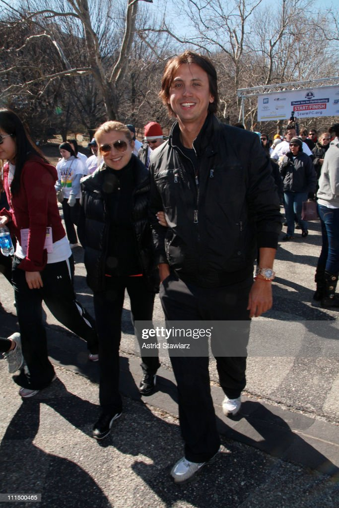 <a gi-track='captionPersonalityLinkClicked' href=/galleries/search?phrase=Jonathan+Cheban&family=editorial&specificpeople=538047 ng-click='$event.stopPropagation()'>Jonathan Cheban</a> walks the 2011 Lustgarten Foundation's NY Pancreatic Cancer Research Walk at Riverside Park on April 3, 2011 in New York City.
