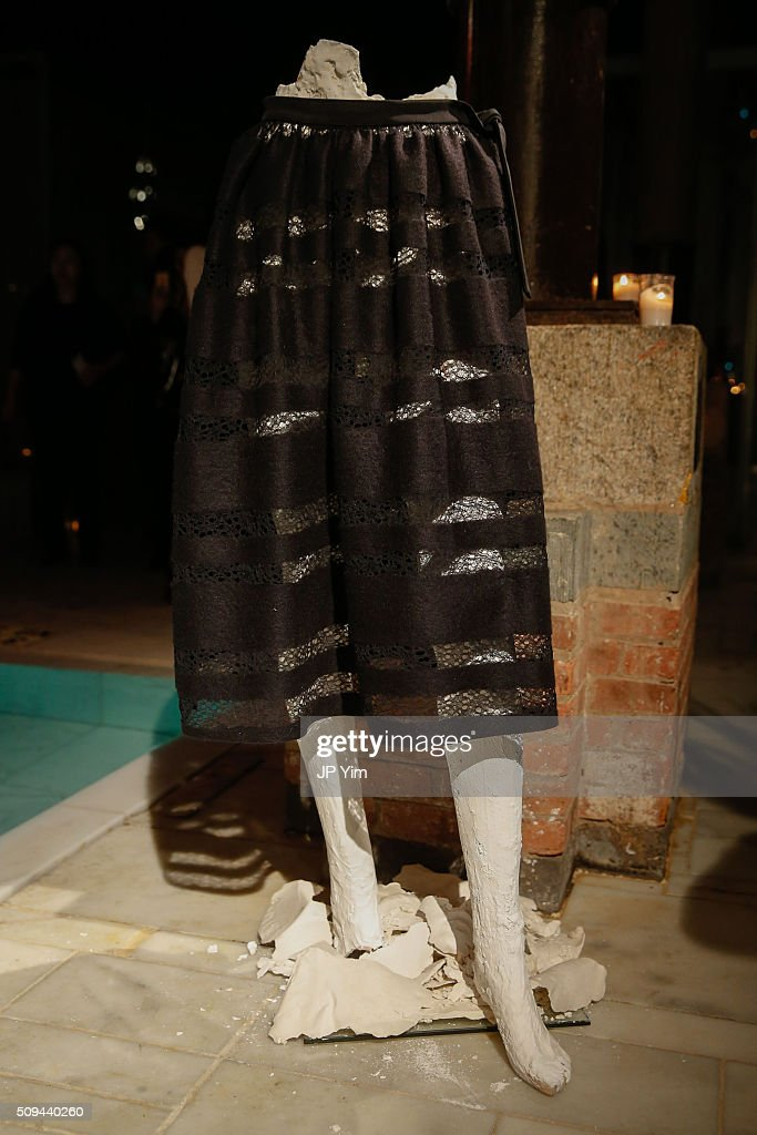 Jonathan Cohen Fall/Winter 2016 Collection is presented during New York Fashion Week Fall 2016 at Aire Ancient Baths on February 10, 2016 in New York City.