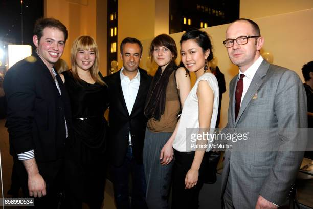Jonathan Cohen Kirsten Geiger Francisco Costa Lee Anderson Nanae Takata and Simon Collins attend CALVIN KLEIN COLLECTION Hosts PARSONS Fashion...