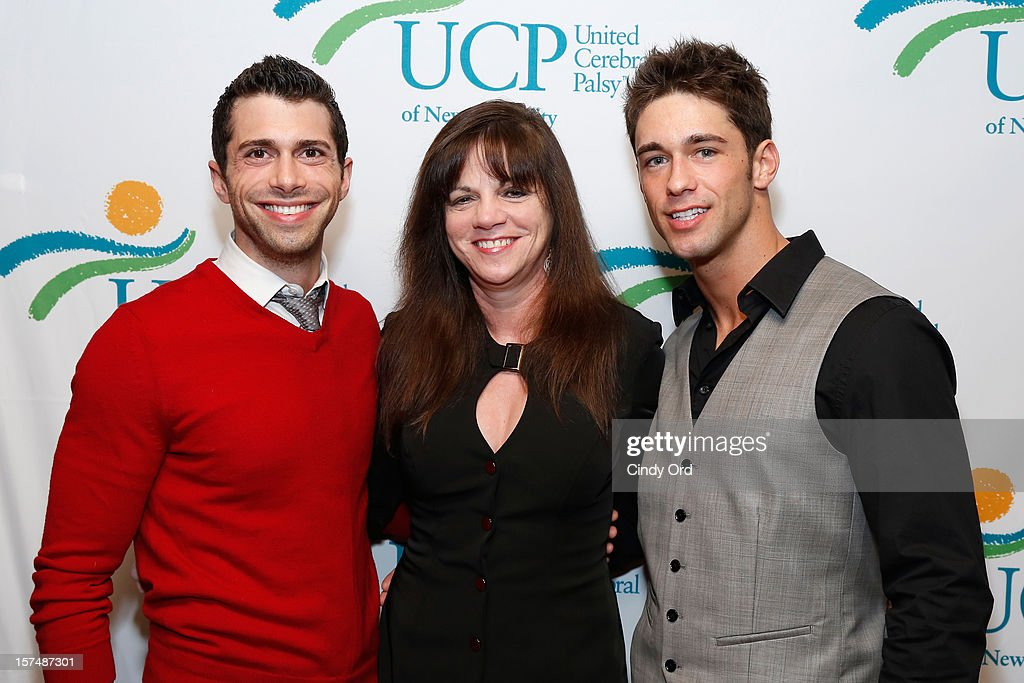 Jonathan D. Lovitz, Dr. Lori Sokol and Nick Ayler attend the Santa Project Party benefiting United Cerebral Palsy Of New York City at Bar Baresco on December 3, 2012 in New York City.