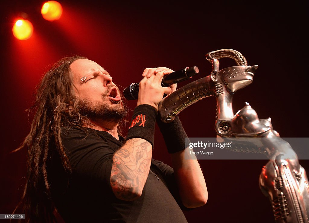 Jonathan David of Korn performs at Roseland Ballroom on September 27 2013 in New York City