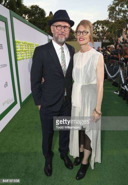 Jonathan Dayton and Valerie Faris at Fox Searchlight's 'Battle of the Sexes' Los Angeles Premiere on September 16 2017 in Westwood California