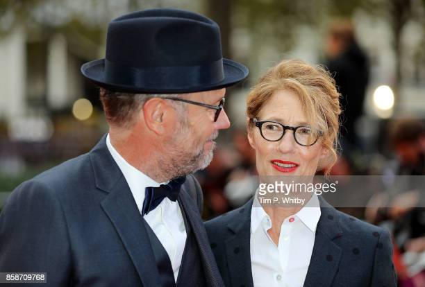 Jonathan Dayton and Valerie Faris attend the American Express Gala European Premiere of 'Battle of the Sexes' during the 61st BFI London Film...