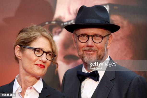 Jonathan Dayton and Valerie Faris attend the 'Battle Of The Sexes' European Premiere during the 61st BFI London Film Festival at Odeon Leicester...