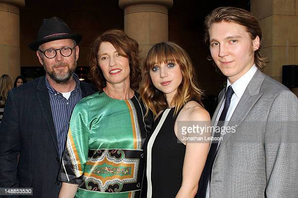 Jonathan Dayton Valerie Faris Zoe Kazan and Paul Dano attend the 'Ruby Sparks' Los Angeles Premiere at American Cinematheque's Egyptian Theatre on...