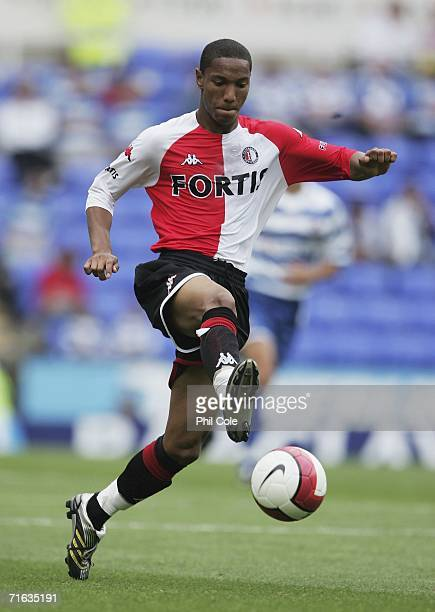 Jonathan De Guzman of Feyenoord during a Pre Season Friendly Match between Reading and Feyenoord at the Madejski Stadium on August 12 2006 in Reading...