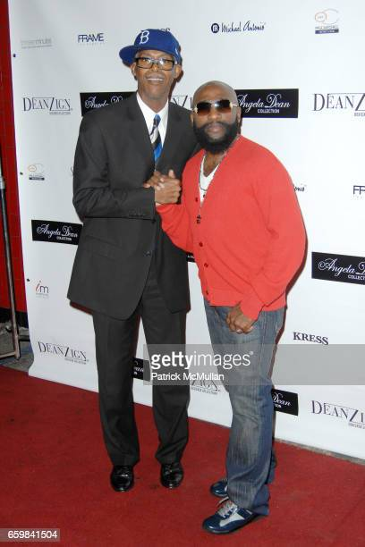 Jonathan Dean and Anthony Henderson attend ANGELA DEAN LAUNCHES ANGELA DEAN RTW COLLECTION at The Kress on November 12 2009 in Hollywood California