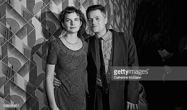 Jonathan Demme and wife at the Sixtythird Annual New York Film Critics Circle Awards presentations at the Rainbow Room in January 1998 in New York...