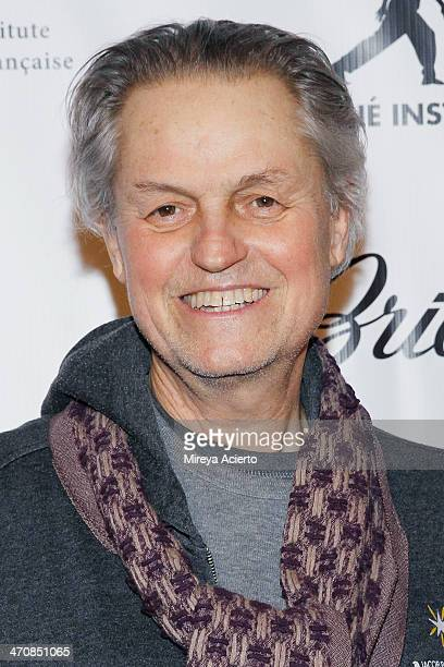 Jonathan Demme attends An Evening Celebration New Cinema from Haiti presented by Cine Institute and L'alliance Francaise on February 20 2014 in New...