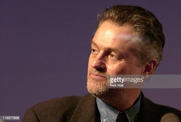 Jonathan Demme during The Times BFI London Film Festival 2004 Masterclass Jonathan Demme and Tak Fujimoto October 23 2004 at National Film Theatre in...