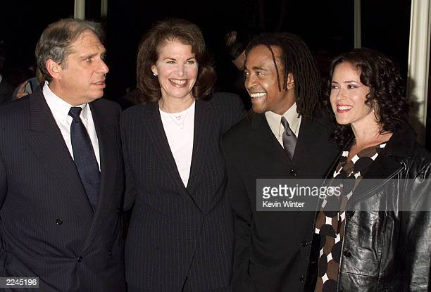 Jonathan Dolgen Chairman Viacom Entertainment Group Sherry Lansing Chairman Motion Picture Group Paramount Pictures Tim Meadows and his wife Michelle...