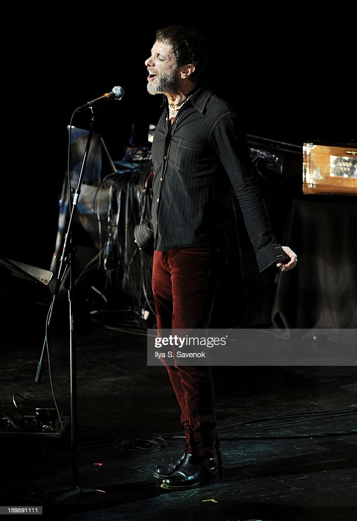 <a gi-track='captionPersonalityLinkClicked' href=/galleries/search?phrase=Jonathan+Donahue&family=editorial&specificpeople=227260 ng-click='$event.stopPropagation()'>Jonathan Donahue</a> of Mercury Rev performs during Life Along The Borderline: A Tribute To Nico at BAM on January 16, 2013 in New York City.