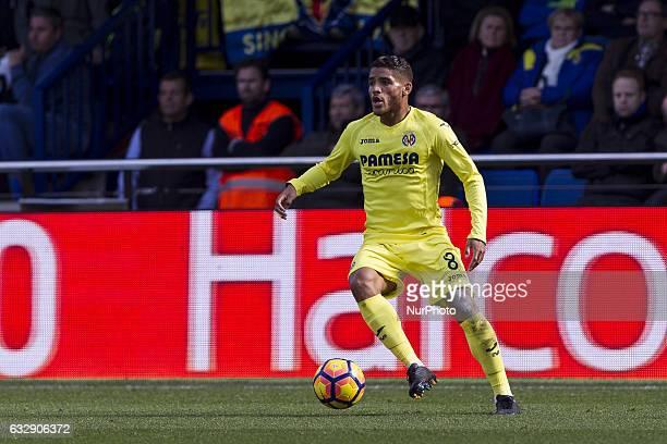 08 Jonathan Dos Santos of Villarreal CF during spanish La Liga Santander soccer match between Villarreal CF and Granada CF at La Ceramica Stadium in...
