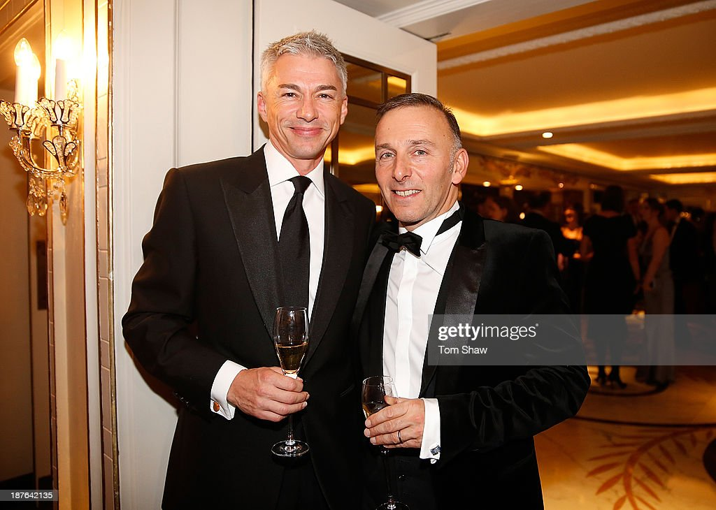 Jonathan Edwards poses during the British Olympic Ball at The Dorchester on October 30, 2013 in London, England.
