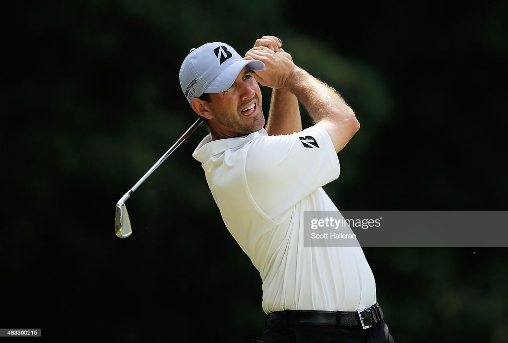 Jonathan Fricke hits a shot during the third round of the 2014 Brasil Champions Presented by HSBC at the Sao Paulo Golf Club on March 15, 2014 in San Paulo, Brazil.
