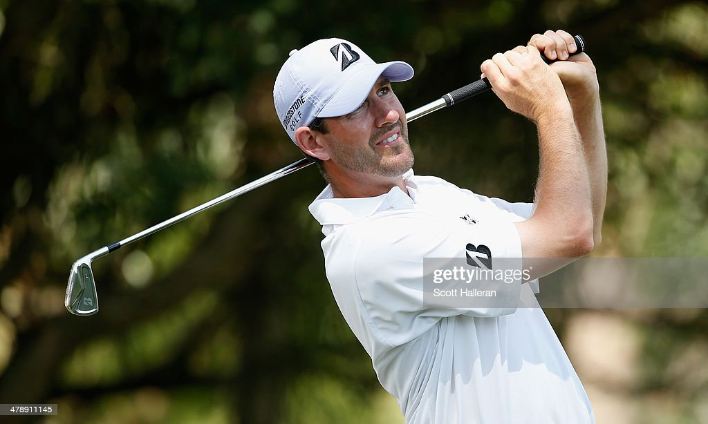 Jonathan Fricke of the USA hits his tee shot on the seventh hole during the third round of the 2014 Brasil Champions Presented by HSBC at the Sao Paulo Golf Club on March 15, 2014 in San Paulo, Brazil.