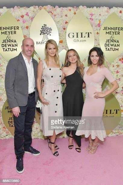 Jonathan Greller Kelly Sawyer Patricof Jennifer Meyer and Jenna Dewan Tatum attend Giltcom Jennifer Meyer Jenna Dewan Tatum Launch Exclusive Jewelry...