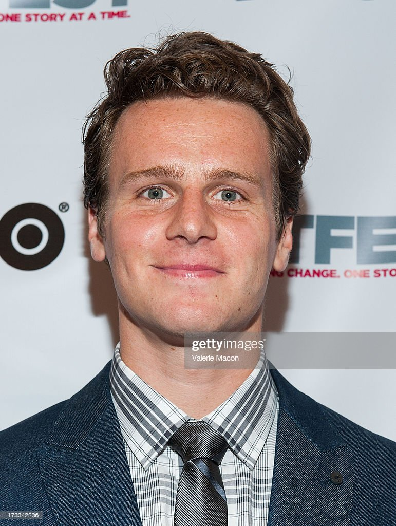 Jonathan Groff attends the 2013 Outfest Opening Night Gala Of 'C.O.G.' - Red Carpet at Orpheum Theatre on July 11, 2013 in Los Angeles, California.