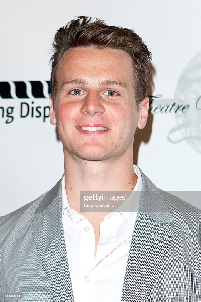 Jonathan Groff attends the 67th annual Theatre World Awards Ceremony at the August Wilson Theatre on June 7, 2011 in New York City.