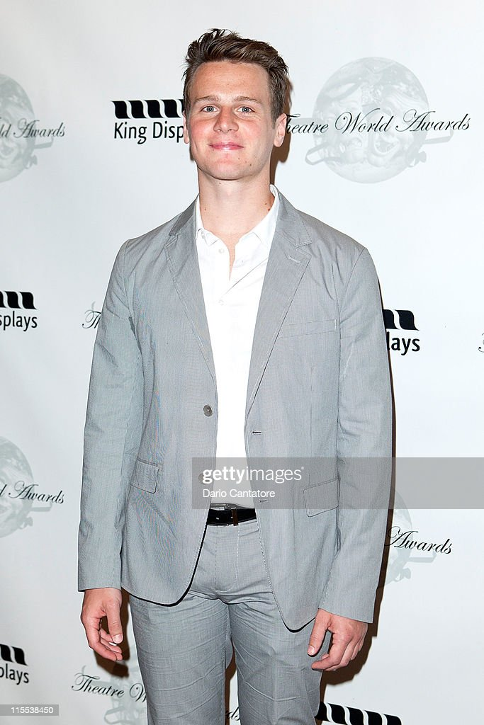 <a gi-track='captionPersonalityLinkClicked' href=/galleries/search?phrase=Jonathan+Groff&family=editorial&specificpeople=2994250 ng-click='$event.stopPropagation()'>Jonathan Groff</a> attends the 67th annual Theatre World Awards Ceremony at the August Wilson Theatre on June 7, 2011 in New York City.