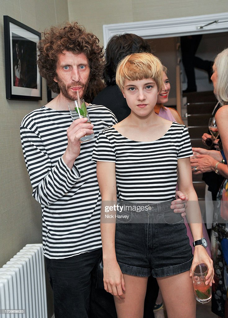 Jonathan Hallam and Vincent Littlehat (R) attend MATCHESFASHION.COM Partners With Rika On 'Iron Girl' Project For Rika Magazine on July 18, 2013 in London, England.