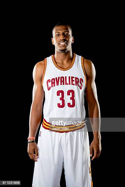 Jonathan Holmes of the Cleveland Cavaliers poses for a portrait during media day at Cleveland Clinic Courts on September 26 2016 in Cleveland Ohio...