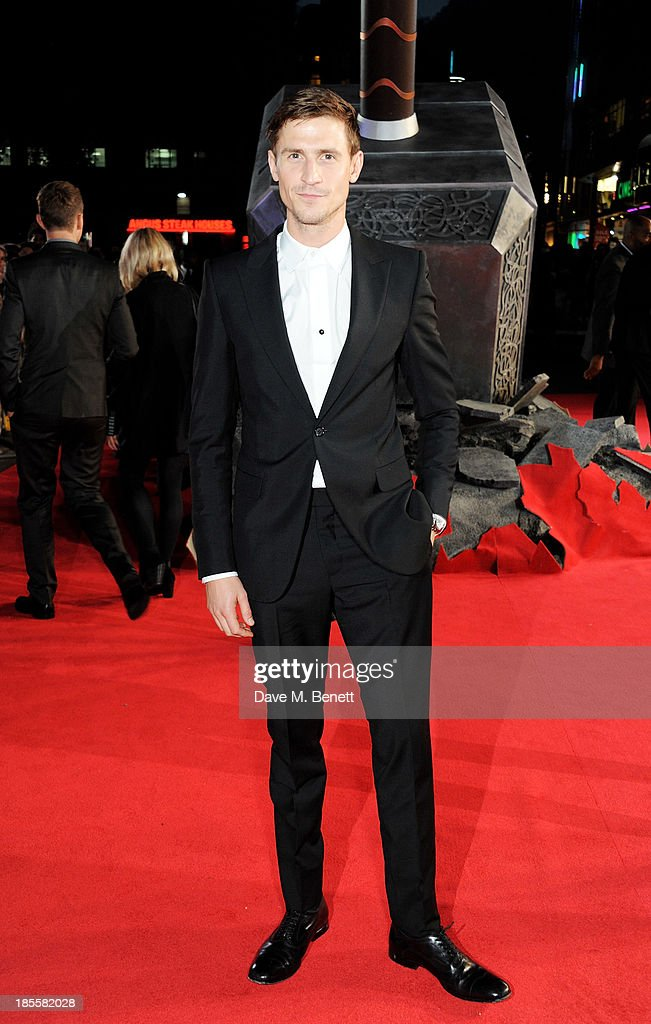 Jonathan Howard attends the World Premiere of 'Thor: The Dark World' at Odeon Leicester Square on October 22, 2013 in London, England.