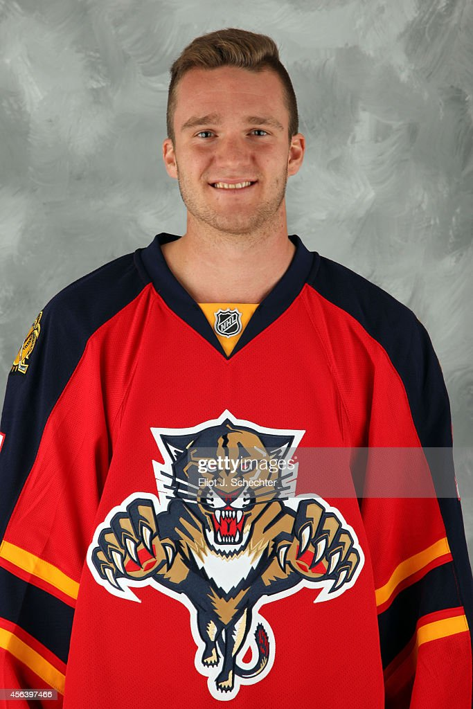 <a gi-track='captionPersonalityLinkClicked' href=/galleries/search?phrase=Jonathan+Huberdeau&family=editorial&specificpeople=7144196 ng-click='$event.stopPropagation()'>Jonathan Huberdeau</a> #11 of the Florida Panthers poses for his official headshot for the 2014-2015 season on September 18, 2014 at the BB&T Center in Sunrise, Florida.