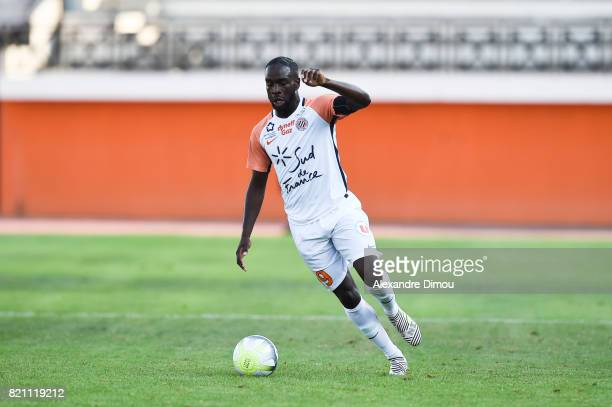 Jonathan Ikone of Montpellier during the friendly match between Montpellier Herault and Toulouse Fc on July 22 2017 in Narbonne France
