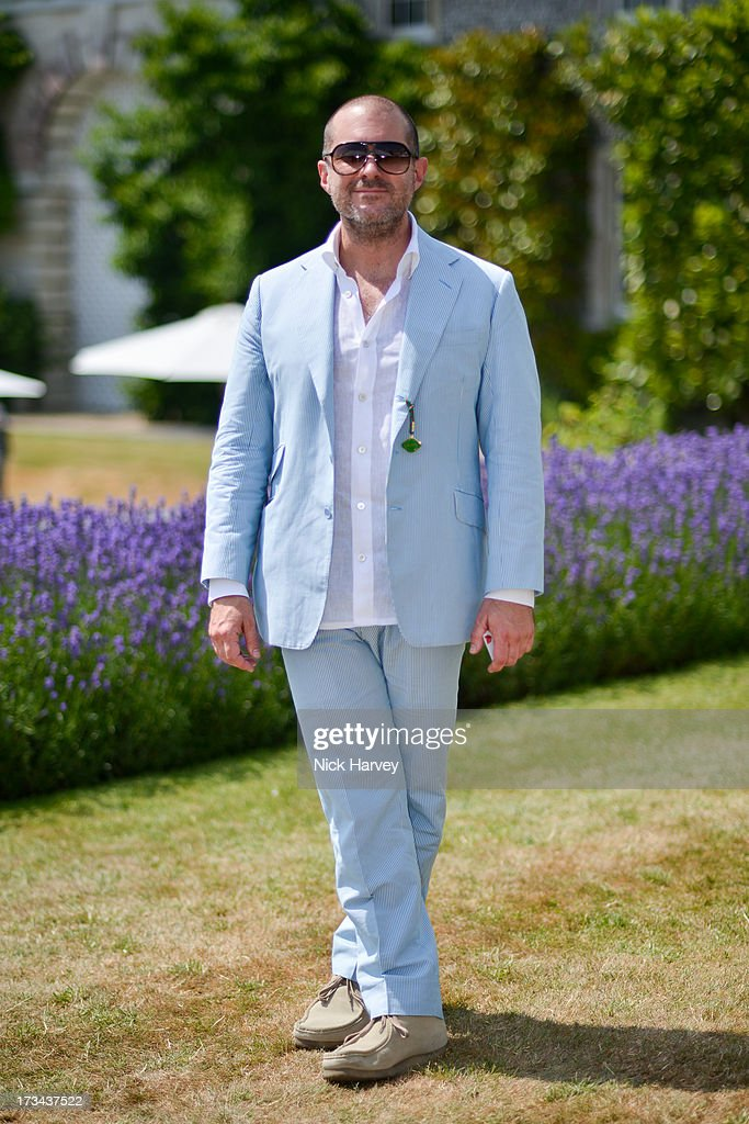 <a gi-track='captionPersonalityLinkClicked' href=/galleries/search?phrase=Jonathan+Ive&family=editorial&specificpeople=4418886 ng-click='$event.stopPropagation()'>Jonathan Ive</a> attends the Cartier Style et Luxe at Goodwood Festival of Speed on July 14, 2013 in Chichester, England.