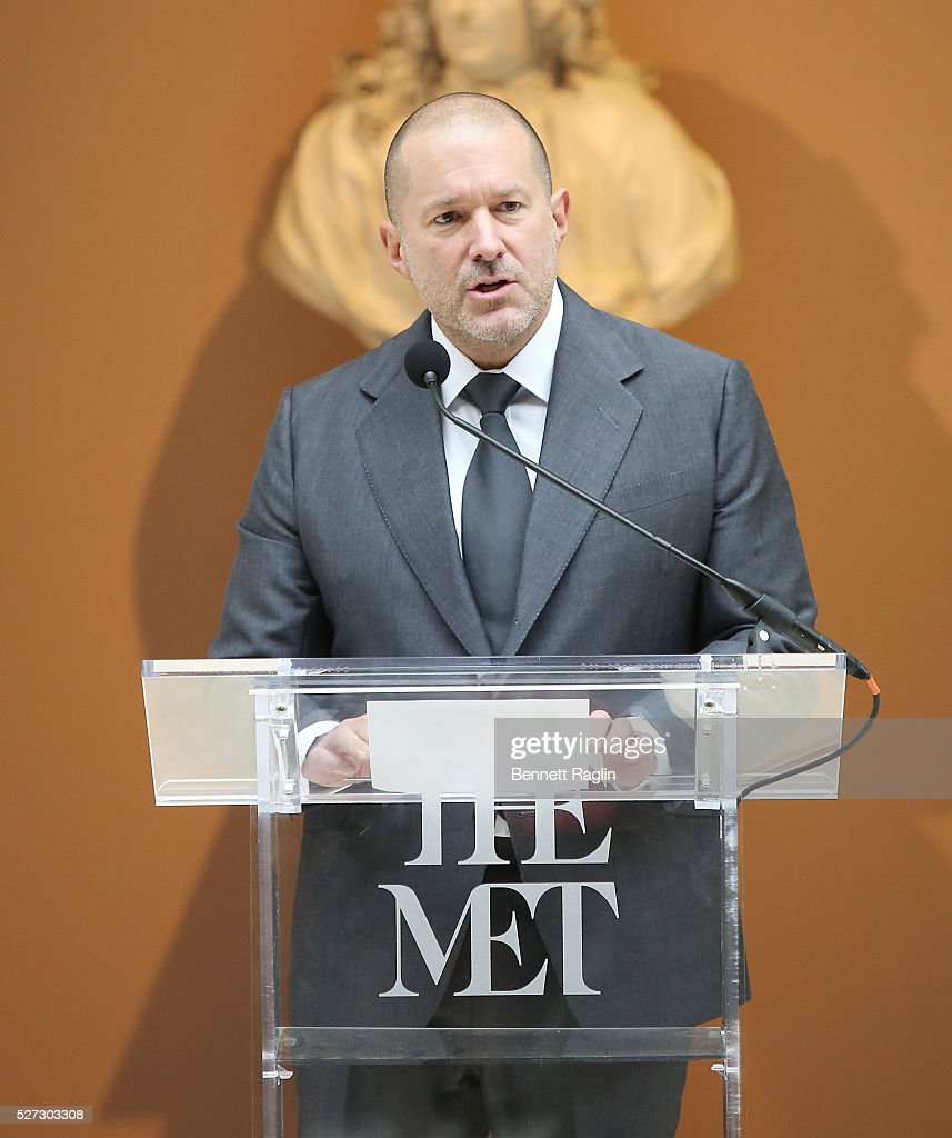 Jonathan Ive, Chief Design Officer Apple attends the 'Manus x Machina: Fashion In An Age Of Technology' - Press Preview at Metropolitan Museum of Art on May 2, 2016 in New York City.