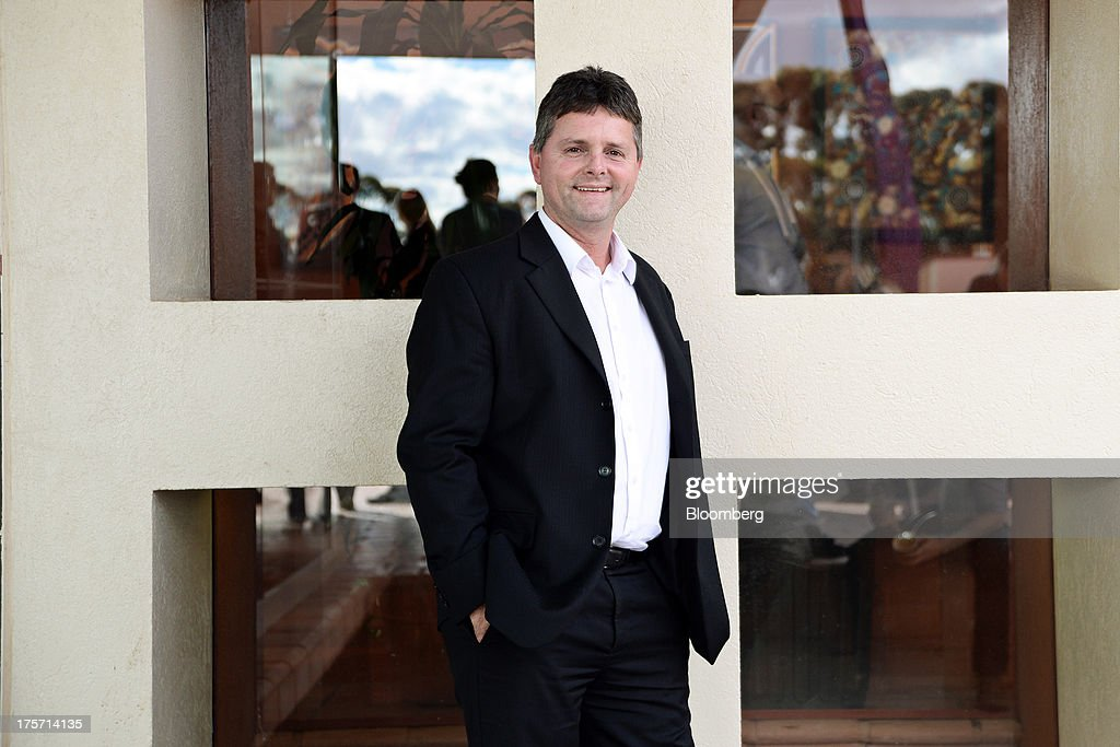Jonathan 'Jon' Paul Price, managing director of Phoenix Gold Ltd., poses for a photograph during the Diggers and Dealers mining forum in Kalgoorlie, Australia, on Tuesday, Aug. 6, 2013. The Diggers and Dealers mining forum runs from Aug. 5-7. Photographer: Carla Gottgens/Bloomberg via Getty Images
