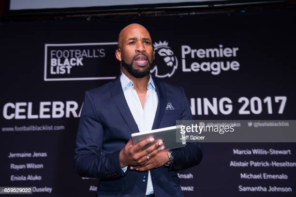 Jonathan Joseph DJ Spoony presents the Football Black List 2016 at Village Underground on March 28 2017 in London England