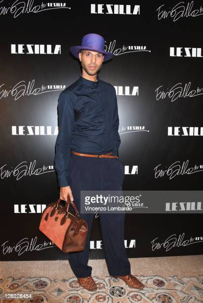 Jonathan Kashanian attends the Le Silla Spring/Summer 2012 presentation as part Milan Womenswear Fashion Week on September 23 2011 in Milan Italy