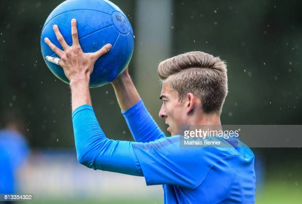 Jonathan Klinsmann during the fifth day of the training camp of Hertha BSC on july 12 2017 in Bad Saarow Germany