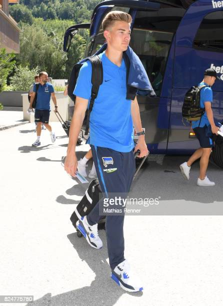 Jonathan Klinsmann of Hertha BSC during a training camp on July 31 2017 in Schladming Austria