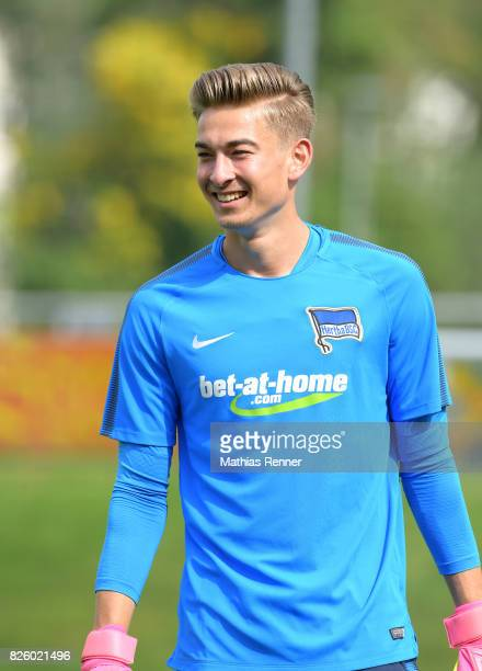 Jonathan Klinsmann of Hertha BSC during the training camp on august 3 2017 in Schladming Austria