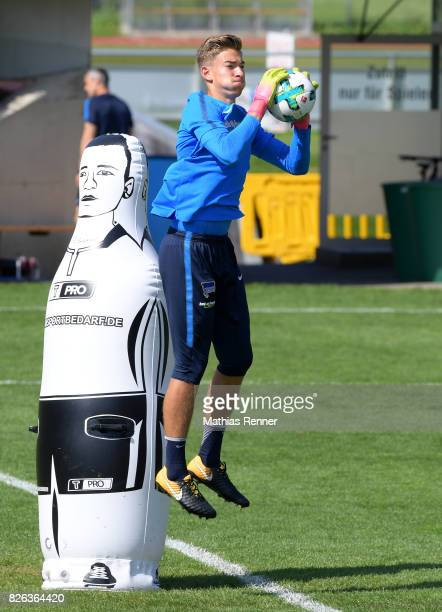 Jonathan Klinsmann of Hertha BSC during the training camp on August 4 2017 in Schladming Austria