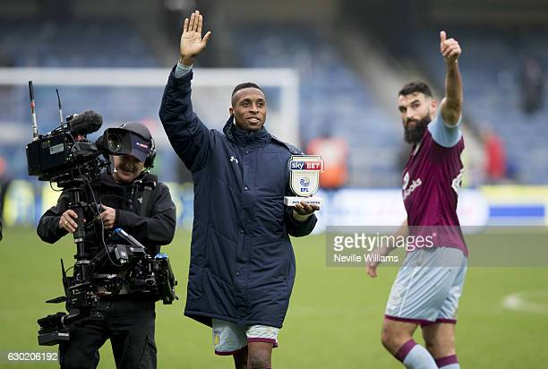 Jonathan Kodjia of Aston Villa after the Sky Bet Championship match between Queens Park Rangers and Aston Villa at Loftus Road on December 18 2016 in...
