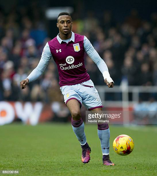 Jonathan Kodjia of Aston Villa during the Sky Bet Championship match between Queens Park Rangers and Aston Villa at Loftus Road on December 18 2016...