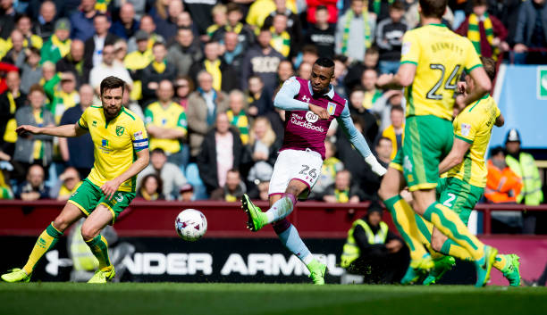 Aston Villa V Norwich City  April
