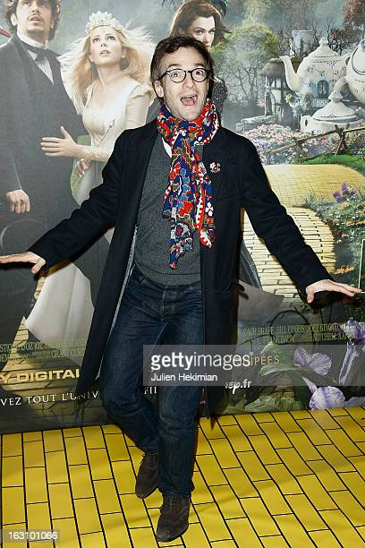 Jonathan Lambert attends 'Le Monde Fantasique D'Oz' Premiere at cinema wepler on March 4 2013 in Paris France
