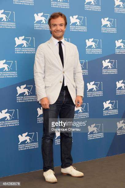 Jonathan Lambert attends 'Reality' Photocall during the 71st Venice Film Festival on August 28 2014 in Venice Italy