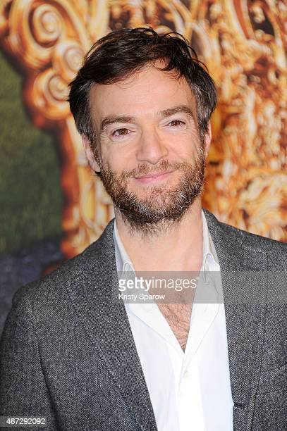Jonathan Lambert attends the Cinderella Paris Premiere at Le Grand Rex on March 22 2015 in Paris France