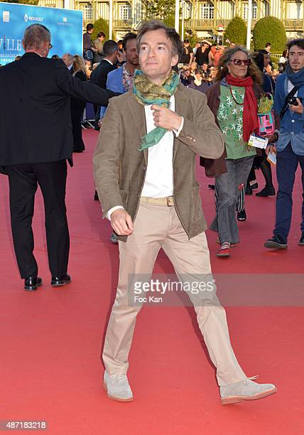Jonathan Lambert attends the 'Jamais Entre Amis' Premiere during the 41st Deauville American Film Festival on September 6 2015 in Deauville France