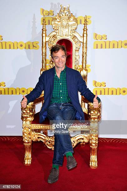 Jonathan Lambert attends the 'Les Minions' Paris Premiere at Le Grand Rex on June 23 2015 in Paris France