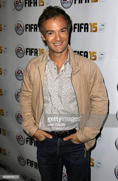 Jonathan Lambert attends the new video game 'Fifa 15' party held at l'Opera restaurant on September 22 2014 in Paris France