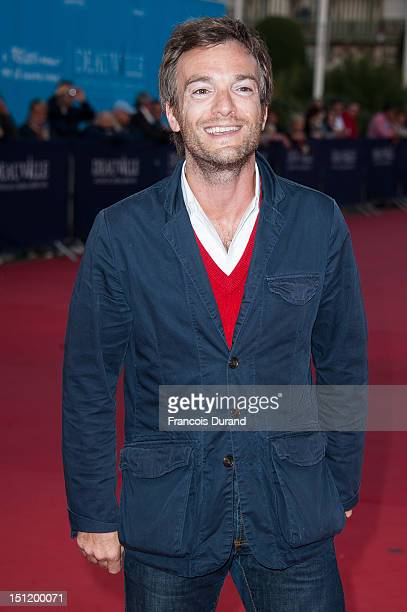 Jonathan Lambert poses before the screening of the movie 'The Secret' during the 38th Deauville American Film Festival on September 3 2012 in...