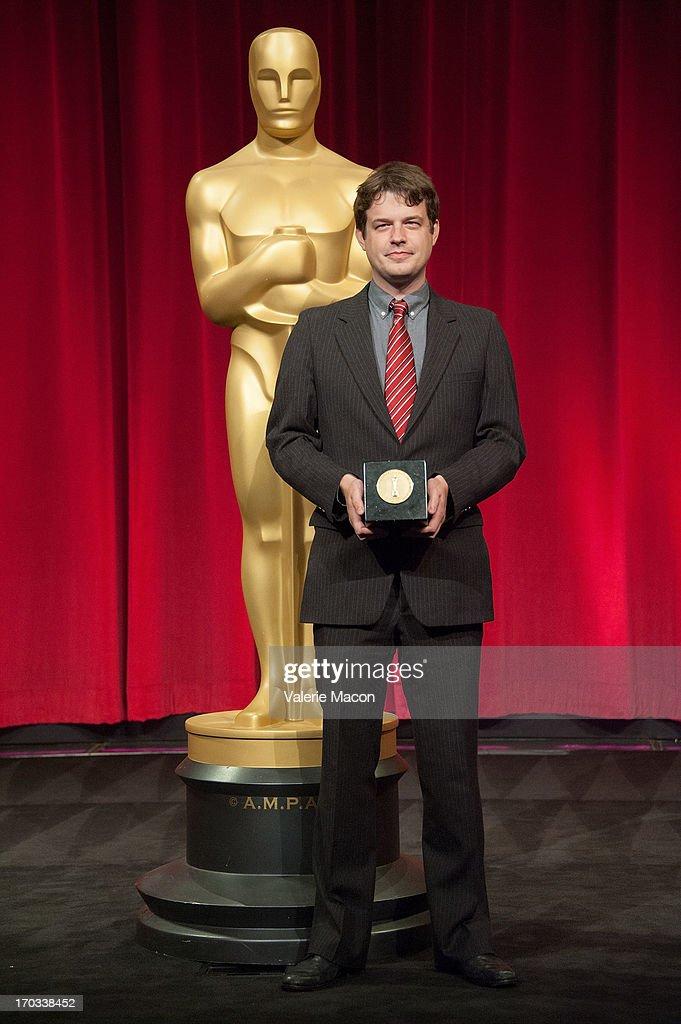 Jonathan Langager attends The Academy Of Motion Picture Arts And Sciences' 40th Annual Student Academy Awards Ceremony at AMPAS Samuel Goldwyn...